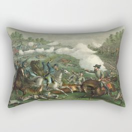 Civil War Battle of Opequan or Winchester Sept. 19th 1864 Rectangular Pillow