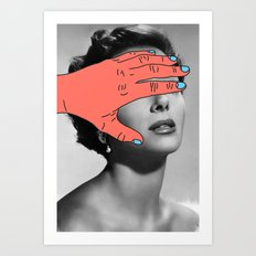 Burning Hands Art Print