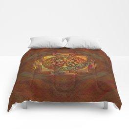 Colorful Sri Yantra  / Sri Chakra Comforters
