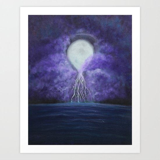 Storms of Time Art Print