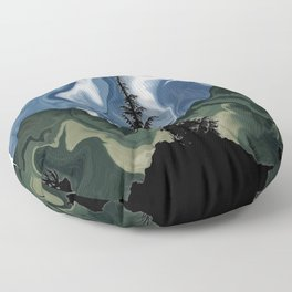 Elks Migrating Floor Pillow