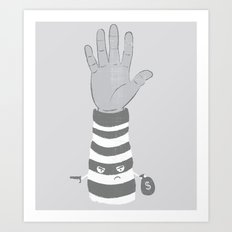 Armed Robbery Art Print