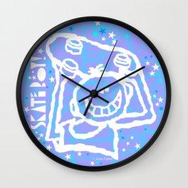Skate Boy Circle 1 Wall Clock