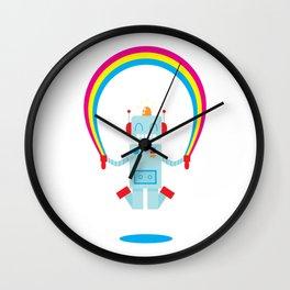 Skipping a Rainbow Wall Clock