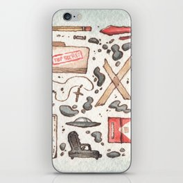 Collection of Ex Files iPhone Skin