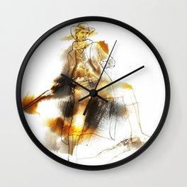 The Gunman Wall Clock