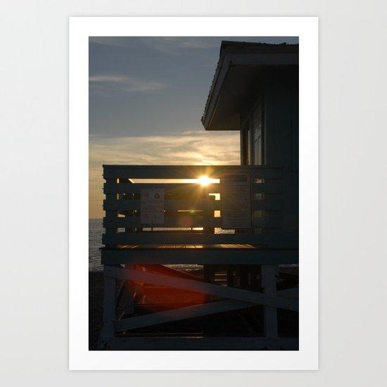 Guarding the Sun Art Print