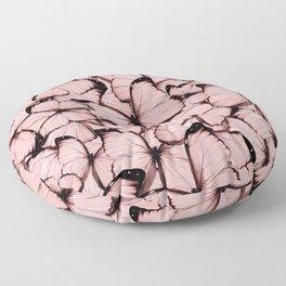 Pink Butterflies Floor Pillow