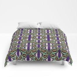 Purple Bliss Pattern Comforters