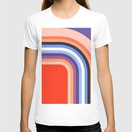 70s Stripes Rainbow 2 T-shirt