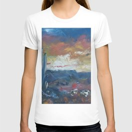Stormy Evening Over Arizona T-shirt