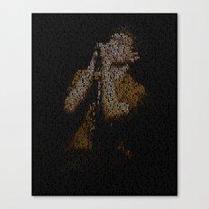 Ian Curtis : Unknown Pleasures Canvas Print