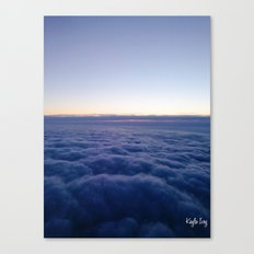 Clouds Above Canvas Print
