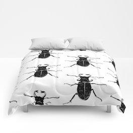MINIMAL + MONOCHROME BEETLE PATTERN Comforters