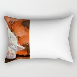 SLEEPING CLOUD by Raphaël Vavasseur Rectangular Pillow