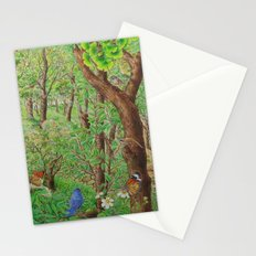 A Day of Forest (2). (sunshine forest) Stationery Cards