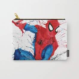 Watercolour Splash Spider-Man Carry-All Pouch