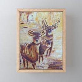 Curious   Curieux Framed Mini Art Print
