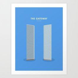 The Gateway, Singapore [Building Singapore] Art Print