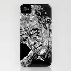 Hunter S Thompson iPhone (4, 4s) Slim Case