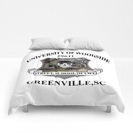 Woodside Greenville University Comforters