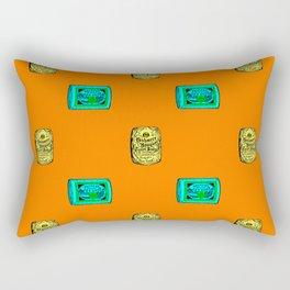 Retro Pattern Soap Rectangular Pillow
