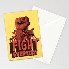 FIGHT EVERYDAY Stationery Cards