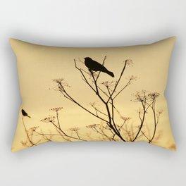 Put a bird on it Rectangular Pillow