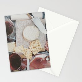 Light lunch. Paris. Stationery Cards