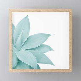 Agave Finesse #8 #tropical #decor #art #society6 Framed Mini Art Print