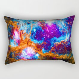 Cosmic Winter Wonderland Rectangular Pillow