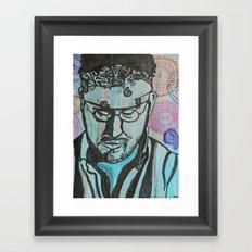 Paisley -- David Foster Wallace  Framed Art Print