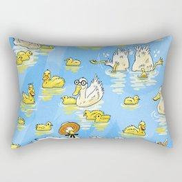 Lucky Duck Rectangular Pillow