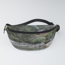 Red Cabin Fanny Pack