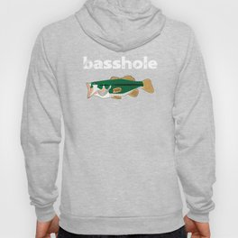 Fishing Basshole Bass Hole Funny Fisherman Gift Hoody