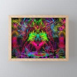 Zap Girl Framed Mini Art Print