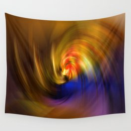 Whirlpool of Light Wall Tapestry