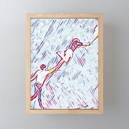 Love Your Ballons Framed Mini Art Print