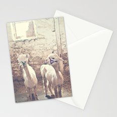 Young Alpacas  Stationery Cards