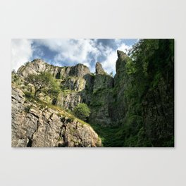 Cheddar Cliffs Canvas Print