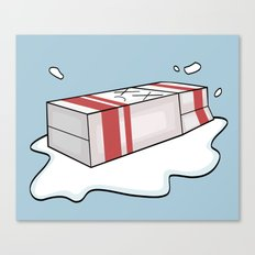 Spilt Milk Canvas Print