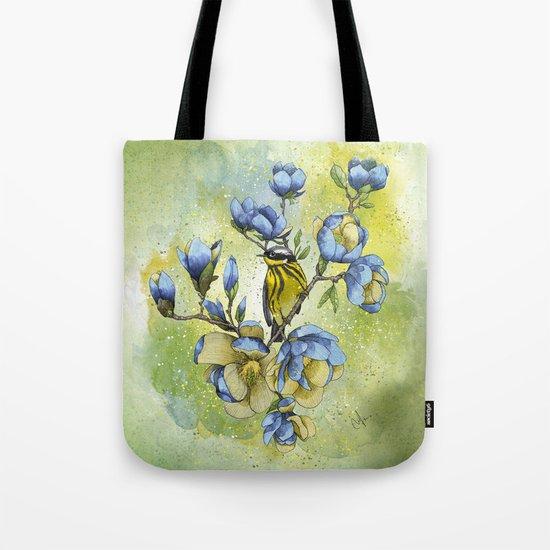 Magnolia Blues Tote Bag