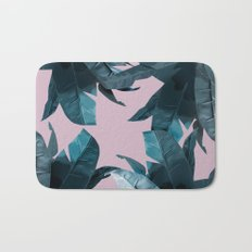 Tropical Palm Print #2 Bath Mat