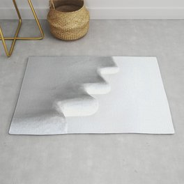 White and Minimal Rug