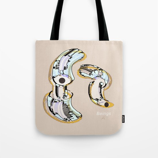 Beings in the Nano-World / 24-08-16 Tote Bag