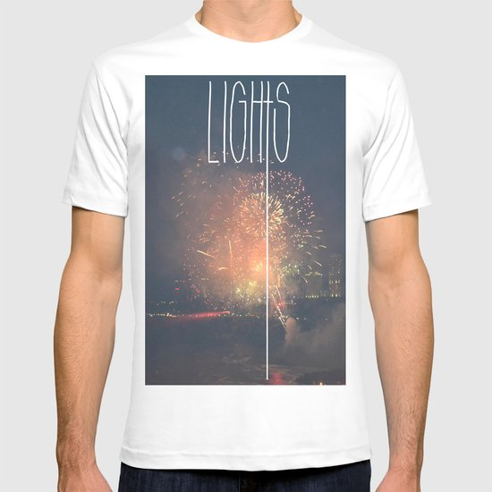 SKY LIGHTS T-shirt