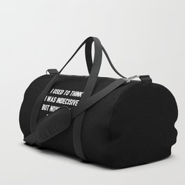 The Indecisive Person Duffle Bag