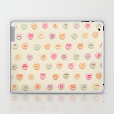 what does your heart say? Laptop & iPad Skin