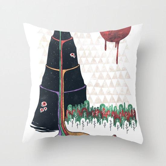 Holy Mountain Throw Pillow