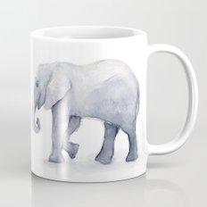 Elephant Watercolor Mug